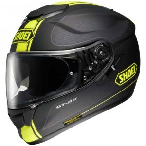 SHOEI CASCO INTEGRALE GT-AIR WANDERER TC-3 BLACK-YELLOW MATT