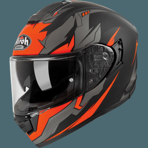 AIROH CASCO INTEGRALE ST 501 BIONIC ORANGE