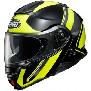 SHOEI NEOTEC II EXECUSION TC3 NERO/GIALLO
