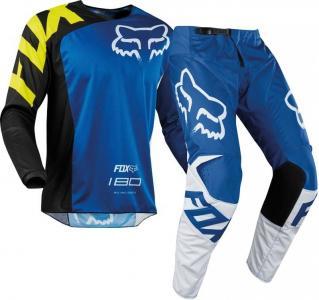 FOX 180 RACE BLUE COMPLETO MX 2018